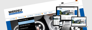 Wandelt GmbH Website online